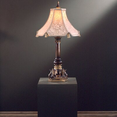 "Minka Ambience Traditional 32"" H Table Lamp with Bell Shade"