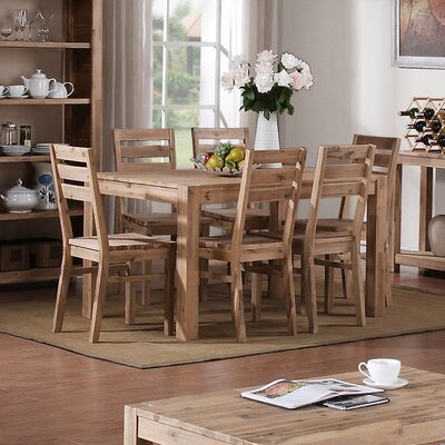 Heartlands Furniture Sahara Dining Table and 6 Chairs