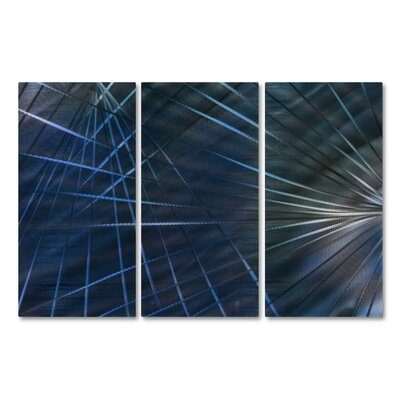 Network IV by Ash Carl Metal Wall Art by All My Walls