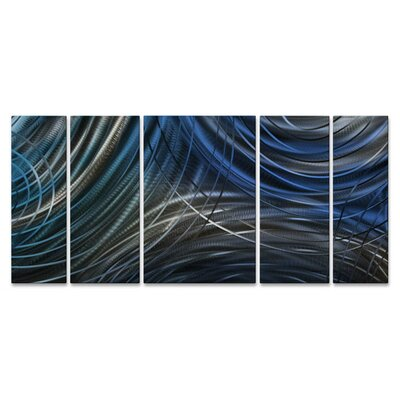 Connecting Rings II Metal Wall Art by All My Walls