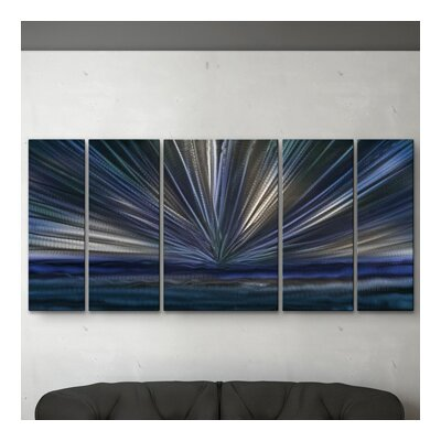 On The Horizon II Metal Wall Art by All My Walls