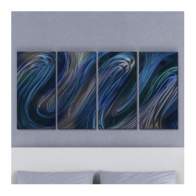 Glissade III by Ash Carl Metal Wall Art by All My Walls