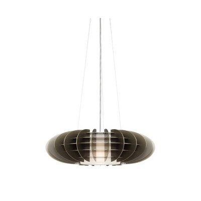 Chicago 1 Light Jazz Pendant by LBL Lighting