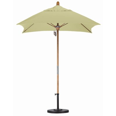 6' x 6' Fiberglass Market Umbrella by California Umbrella