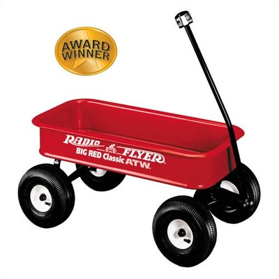 Big Red Classic Ride-On Wagon by Radio Flyer