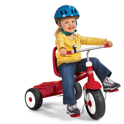 Radio Flyer Deluxe Steer & Stroll Tricycle