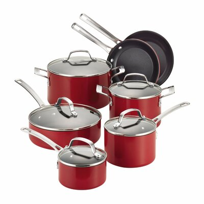 Genesis 12 Piece Aluminum Cookware Set by Circulon