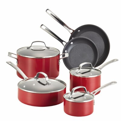 Genesis Aluminum Non-Stick 10-Piece Cookware Set by Circulon