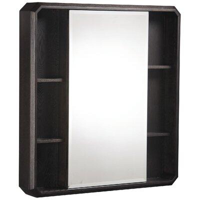 "Cirtangular 30"" x 32"" Surface Mount Beveled Edge Medicine Cabinet Product Photo"