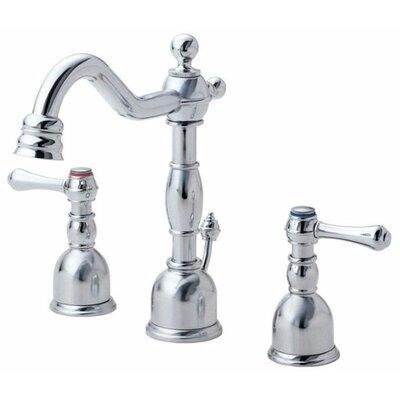 Opulence Double Handle Mini Widespread Bathroom Faucet Product Photo