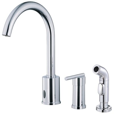 Danze® Parma Single Handle Deck Mount Kitchen Faucet with Spray