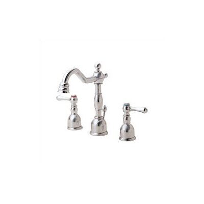 Danze® Opulence Mini Widespread Bathroom Faucet with Double Lever Handles