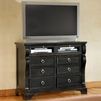 Carlisle 6 Drawer Media Chest by American Woodcrafters