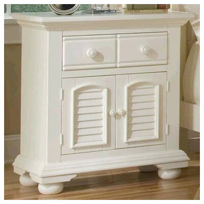 Cottage Traditions Nightstand by American Woodcrafters