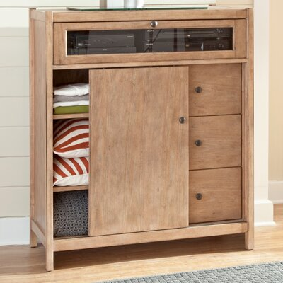Natural Elements Entertainment Center by American Woodcrafters