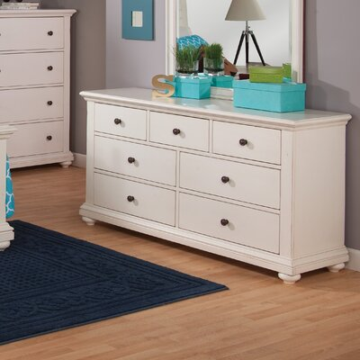 7 Drawer Double Dresser by Beachcrest Home
