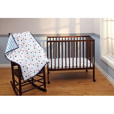 Mickey Mouse 3 Piece Crib Bedding Set by Disney Baby