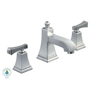 Exhibit Double Handle Deck-Plate Bathroom Faucet Product Photo