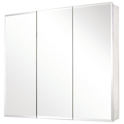 "36"" x 31"" Beveled Edge Medicine Cabinet Product Photo"