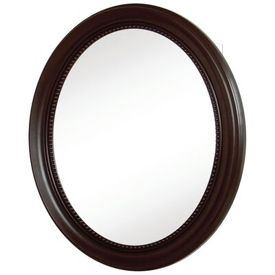 "Oval Deco 23.25"" x 29"" x 5.5"" Framed Medicine Cabinet Product Photo"