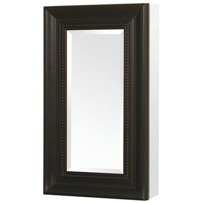"Deco 15"" x 26"" Wall Mount Medicine Cabinet Product Photo"