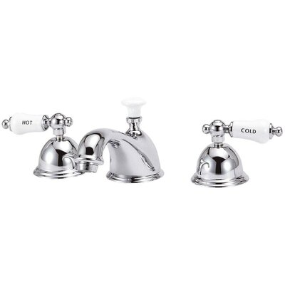 Bradsford Double Handle Mid Arc Bathroom Faucet with Lever Handle by Elizabethan Classics