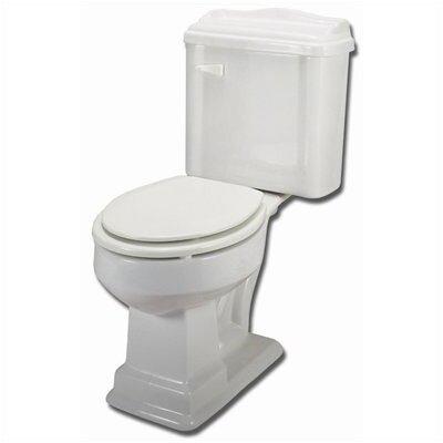 English Turn Elongated Toilet Product Photo