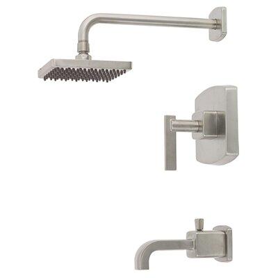 """Belle Foret Mainz 6.69"""" Spout Diverter Tub/Shower Faucet Trim"""
