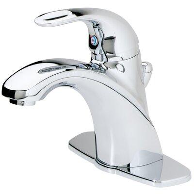 Parisa Single Handle Centerset Standard Bathroom Faucet with Flex-Line Supply Lines and Metal ...