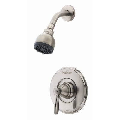 Pfister Portland Volume Control Tub and Shower Faucet with Lever Handle