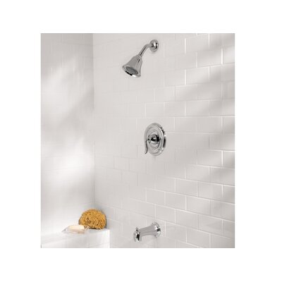 Santiago Diverter Tub and Shower Faucet with Lever Handle Product Photo