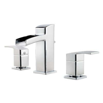 Kenzo Double Handle Widespread Waterfall Faucet Product Photo