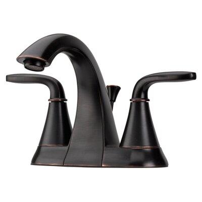 Pfister Pasadena Double Handle Centerset Standard Bathroom Faucet