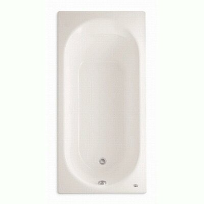 """Stratford Americast 66"""" x 32"""" Drop-In Soaking Bathtub with Grab Bar Drillings Product Photo"""