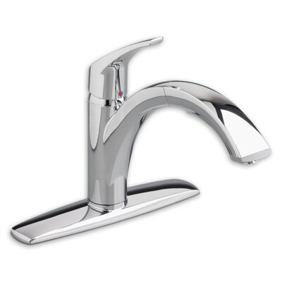 American Standard Arch Single Handle Centerset KitchenFaucet with Pull Out Spray