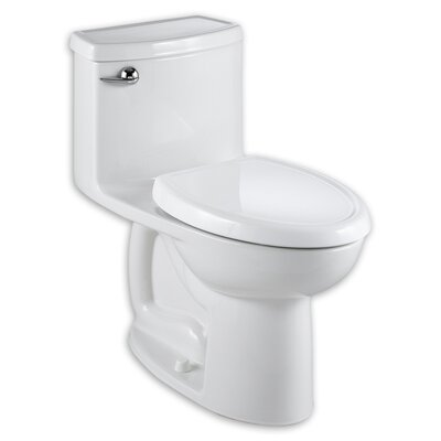 American Standard Cadet Compact 3 Flowise 1.28 GPF Elongated 1 Piece Toilet with Seat