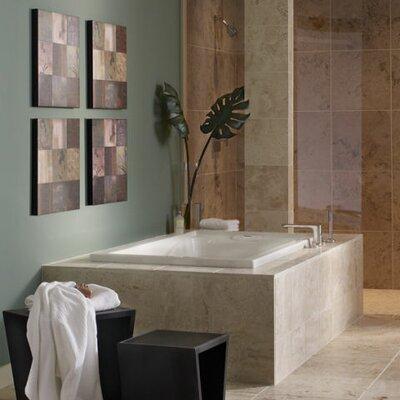 "American Standard Evolution 72"" x 36"" EverClean Hydro Massage Air/Whirlpool Bathtub"