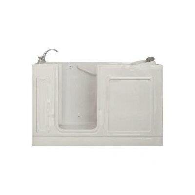 "American Standard 60"" x 37.5"" Walk In Whirlpool Bathtub"