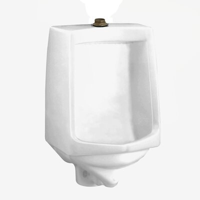 "American Standard Trimbrook Urinal with 0.75"" Top Spud, Wall Hanger, and Outlet Connection"
