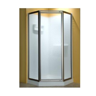 """Custom Euro 72"""" x 32"""" Neo-Angle Frameless Door Product Photo"""