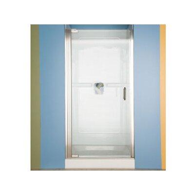 """American Standard Euro 65.57"""" x 33.57"""" Pivot Frameless Hinge Shower Door"""