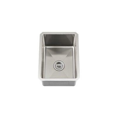 Single Bowl Zero Radius Bar Sink Product Photo