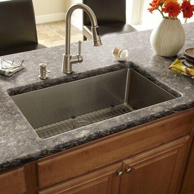 "32"" x 19"" Single Bowl Kitchen Sink Product Photo"