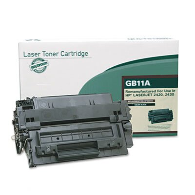 Guy Brown Products GB11A (Q6511A) Remanufactured Laser Cartridge, Black