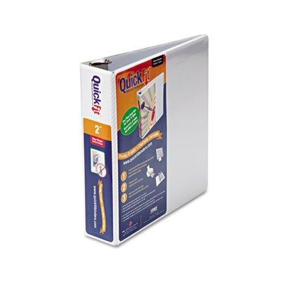 """Stride, Inc. Quick Fit D-Ring View Binder, 2"""" Capacity"""