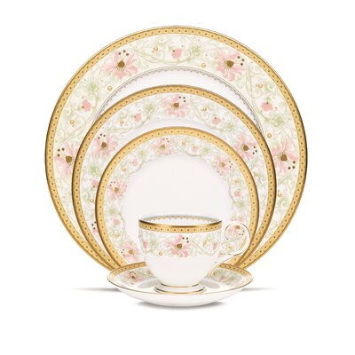 Blooming Splendor 5 Piece Place Setting with Box by Noritake