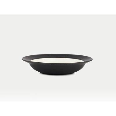 Noritake Colorwave Graphite Rim Pasta / Soup Bowl