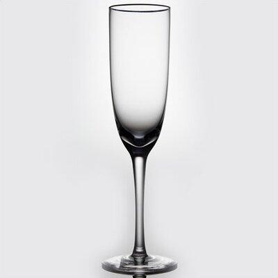 Noritake Palais Platinum Champagne Flute