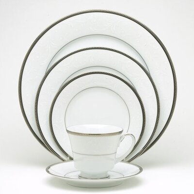 Regina Platinum Dinnerware Collection by Noritake