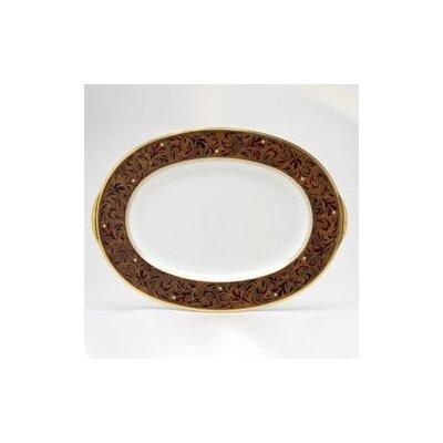 Noritake Xavier Gold Oval Platter